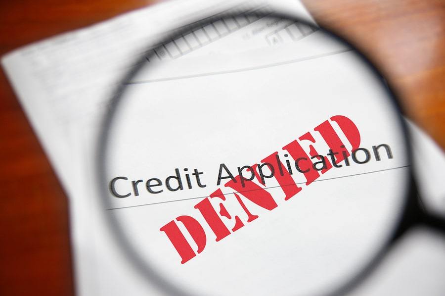 Banks deny credit